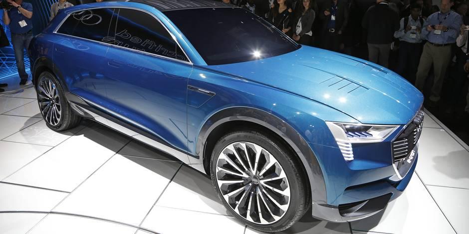 Electrique: Audi, BMW, Mercedes-Benz Porsche et Volvo lancent leur contre-attaque