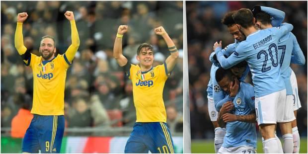 Ligue des Champions: la Juventus qualifiée pour les quarts de finale après sa victoire à Tottenham (1-2), Manchester Cit...