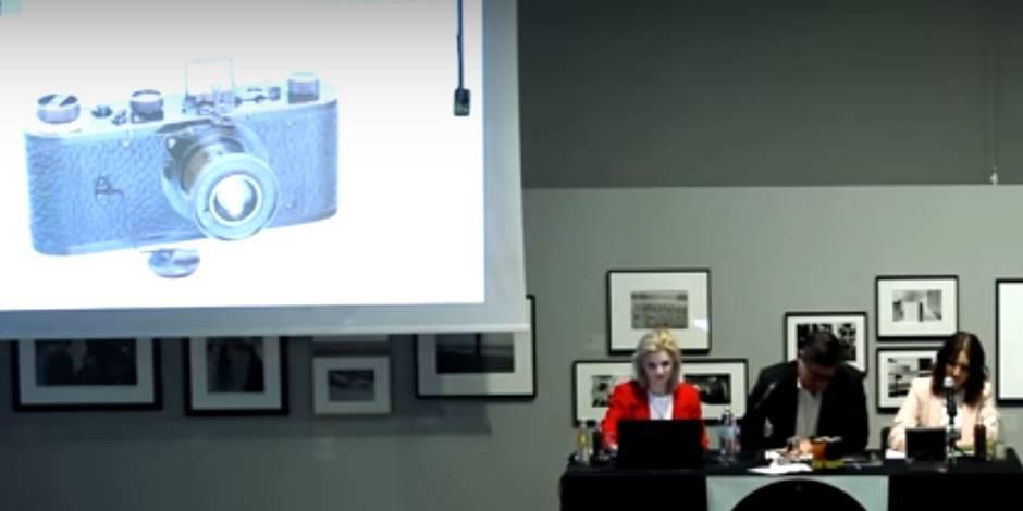 Un appareil photo vendu à 2,4 millions d'euros