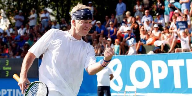 John McEnroe tête d'affiche à Bruxelles - La Libre