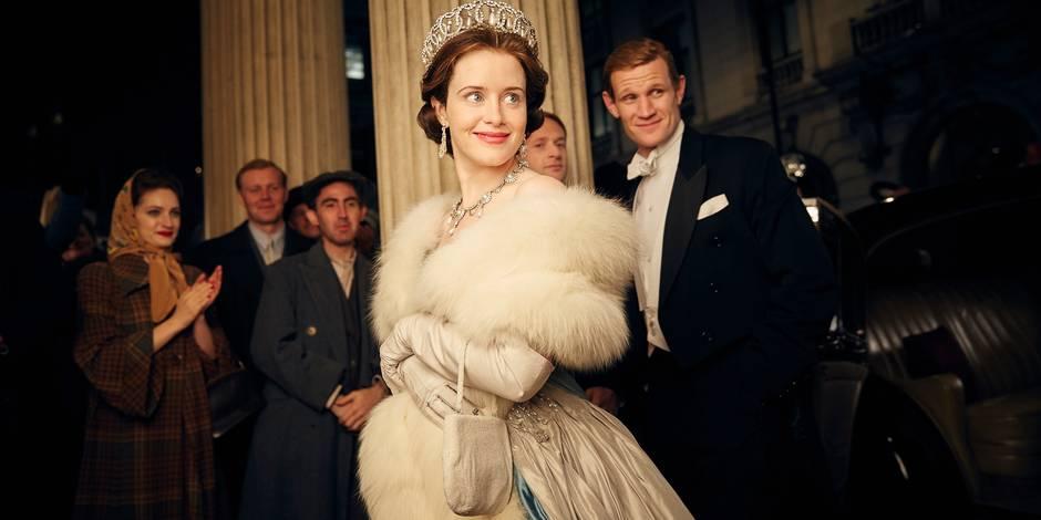 """Dans la série """"The Crown"""", la reine est moins bien payée que le prince"""
