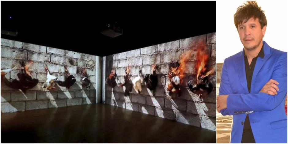 Adel Abdessemed brûle les poulets et enflamme Internet