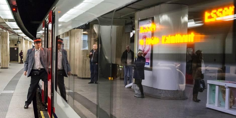Heurt de personne en gare de Bruxelles-Central, trafic interrompu sur trois voies