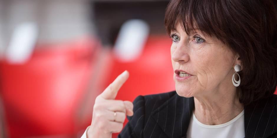 """Laurette Onkelinx: """"Didier Reynders est complètement vendu à la N-VA"""" (ENTRETIEN)"""