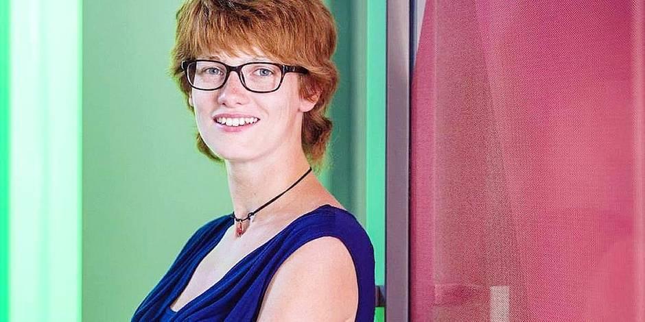 Annelien Boone, économiste de formation, représente la jeunesse au premier pré-synode de l'Eglise catholique