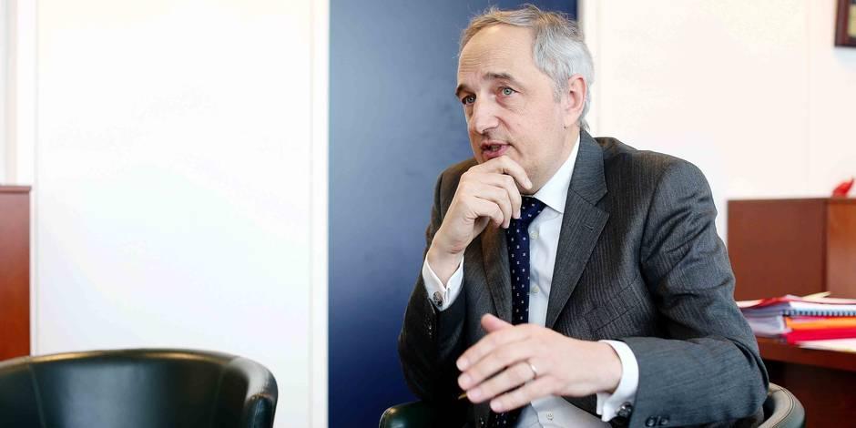 Photos Bernard Demoulin: Eric Jacobs patron de la PJF Bruxelles. Police Judiciaire Federale