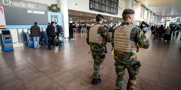 """Des centaines """"d'extrémistes"""" sont interceptés chaque mois à l'aéroport de Zaventem - La Libre"""