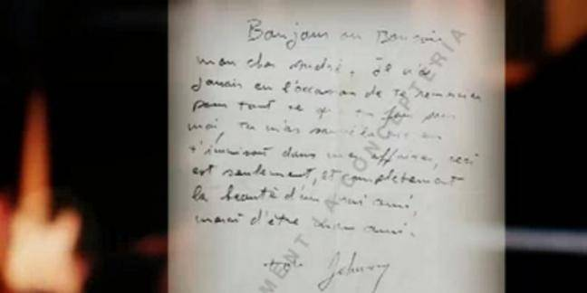 Une lettre assez ambigüe de Johnny Hallyday au père de Laetici dévoilée au grand jour
