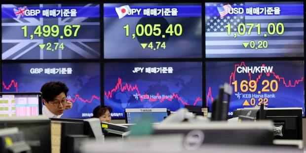 La peur de la guerre commerciale fait chuter les Bourses chinoises - La Libre