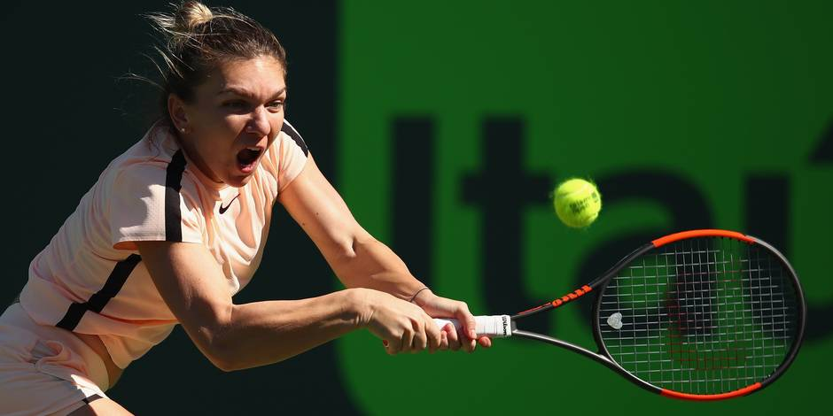 Masters 1000 de Miami: la N.1 mondiale Simona Halep éliminée au 3e tour