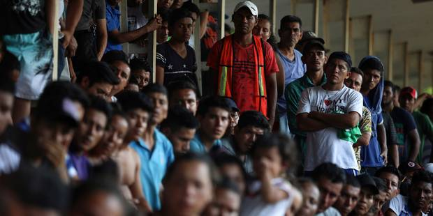 Mexique : la caravane de migrants renonce à rejoindre la frontière avec les Etats-Unis - La Libre