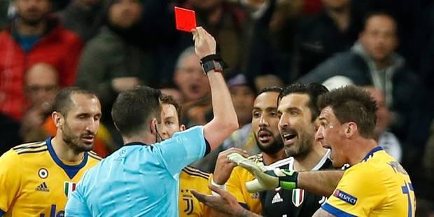 Buffon ne retire pas ses critiques sur l'arbitre de Real-Juve, mais les dirait autrement - La Libre