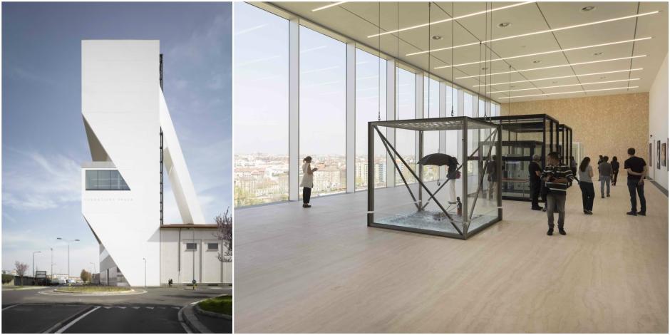 La magnifique tour de Koolhaas à la Fondation Prada