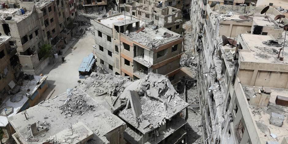 Conflit en Syrie: Moscou affirme avoir trouvé des cylindres de chlore allemands dans la Ghouta