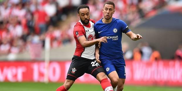 Belges à l'étranger: Hazard à l'assist file en finale de la FA Cup, Carrasco marque contre Witsel - La Libre