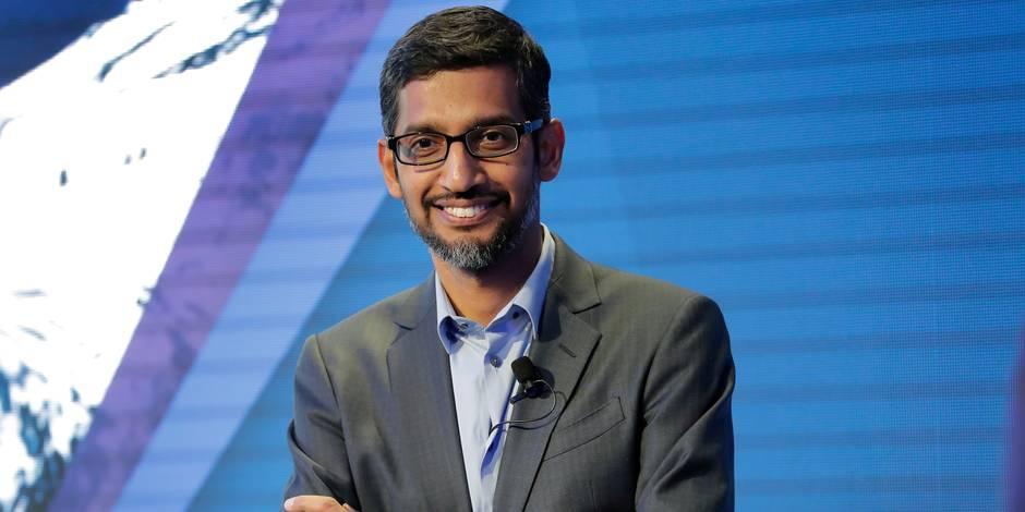 Le patron de Google va empocher cette semaine un bonus de 380 millions de dollars